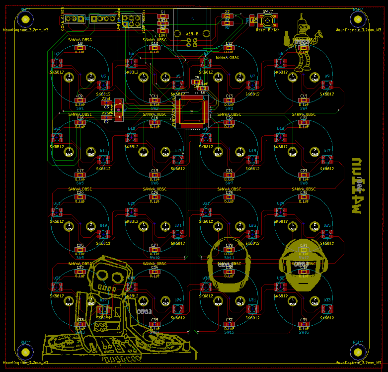 No PCB design is complete without some artwork :)