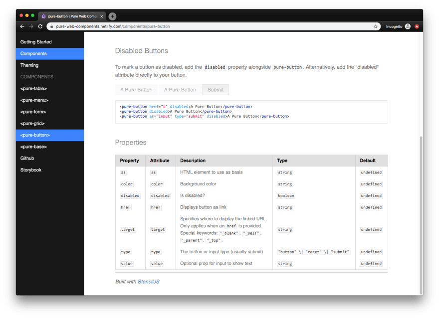 Example of a custom component used inside of Markdown