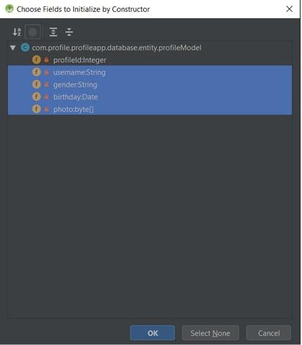 Generating constructor