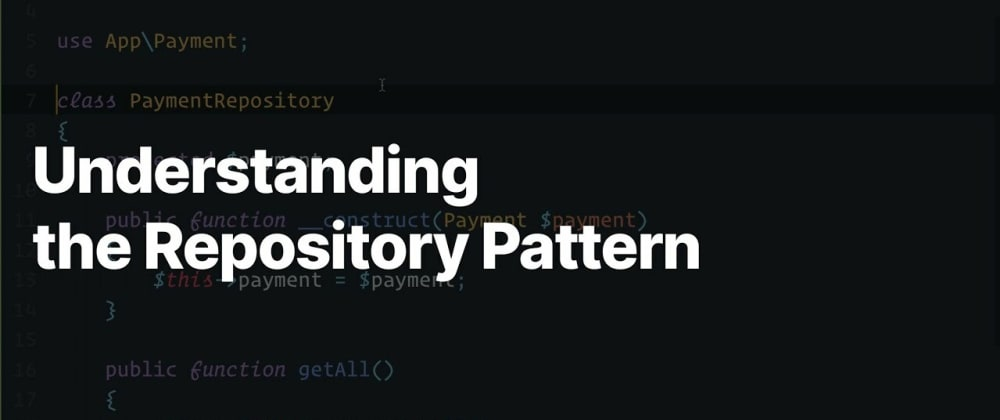 """Cover image for Demystifying the """"Repository Pattern"""" in PHP"""