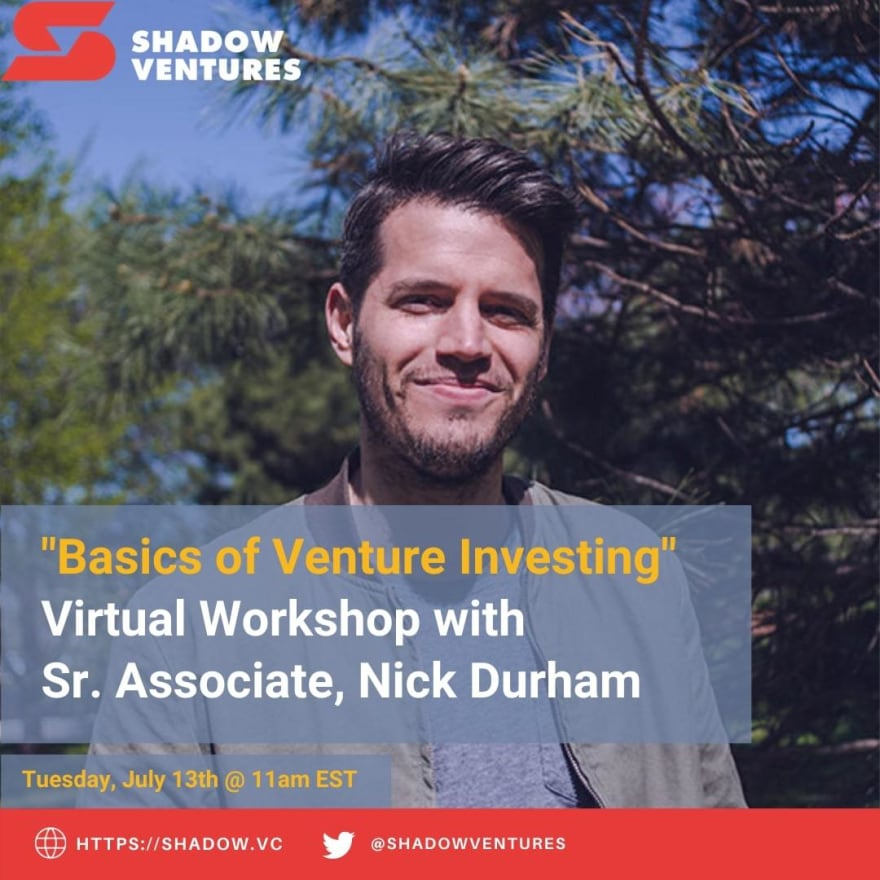 Shadow Ventures Nick Durham Venture Capital Investing