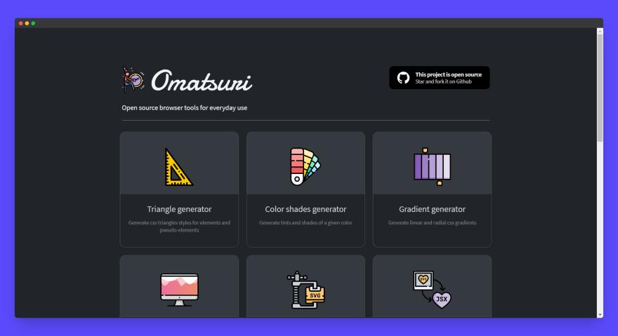 Omatsuri App