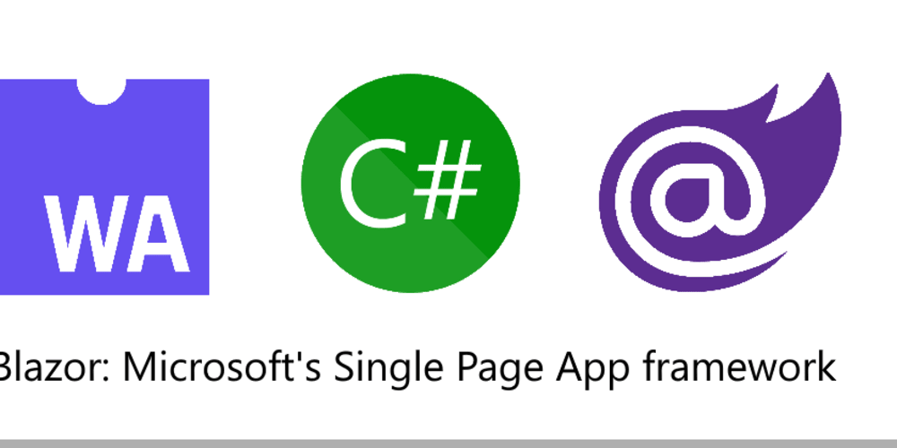 Why build Single Page Apps in Blazor