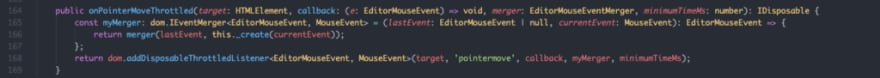 typescript method in vs code codebase