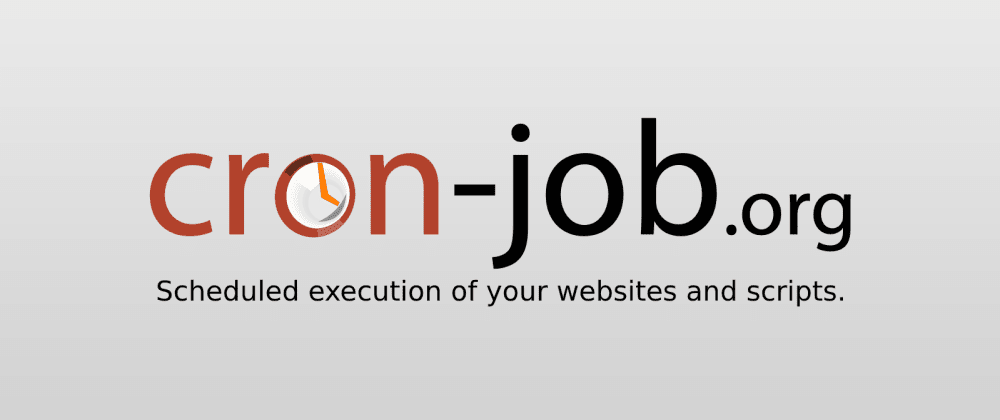 Cover image for Cron-job.org - Free Cron service