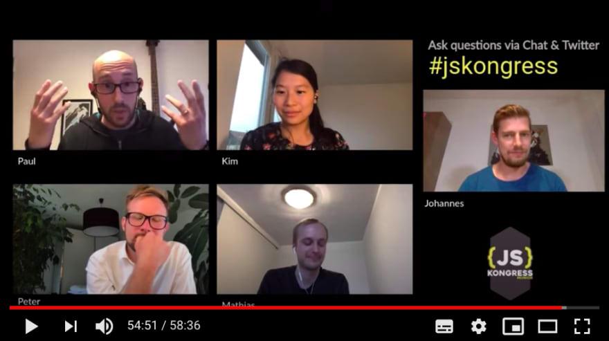 JSK meets DevTools Team: Kim, Peter, Mathias and Paul