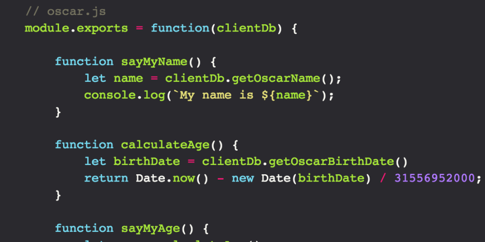 How to optimize module encapsulation in Node js - DEV