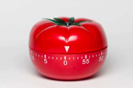Kitchen timer that is at core of the Pomodoro Technique