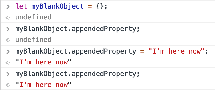 Appending is easy