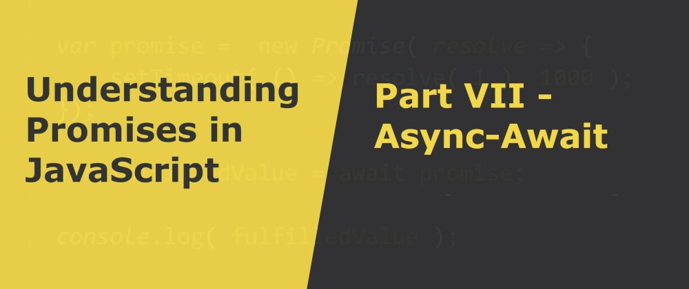 Cover image for Async-Await