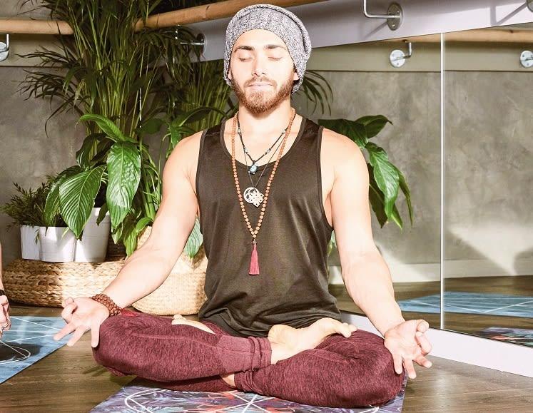 Full Lotus Seated Meditation Position