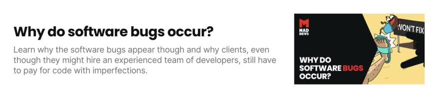 Why do software bugs occur?