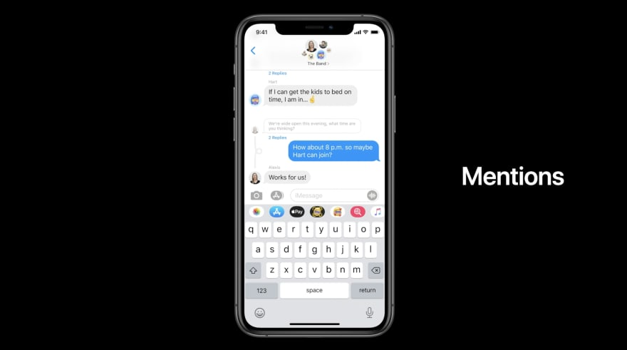 iOS 14 Message 2