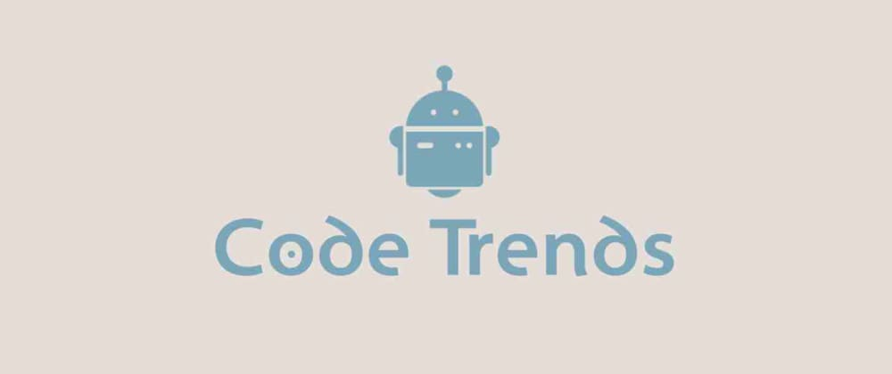 Cover image for Code Trends 0.0.4