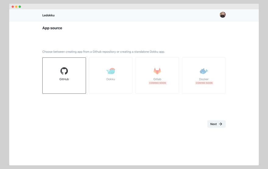 Ledokku-Create-App-View