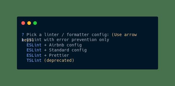 Linter / Formatter config
