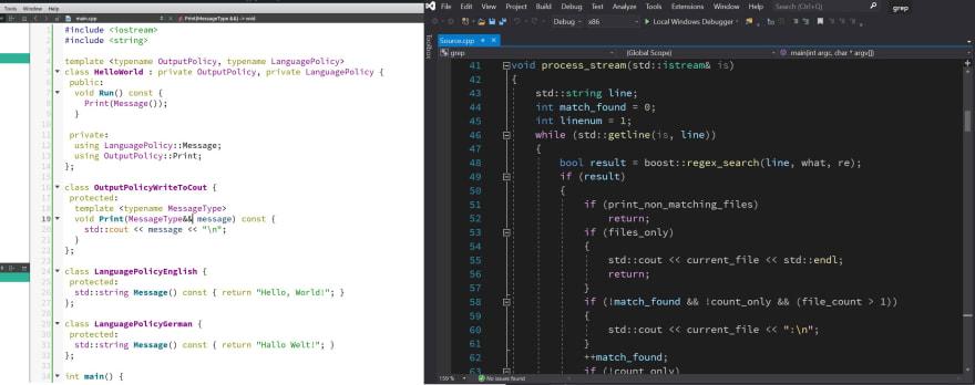 QT Creator on Linux && Visual Studio on Windows