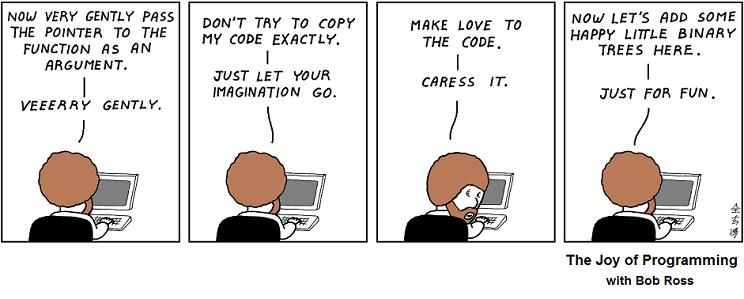 Bob Ross: The Art of Programming