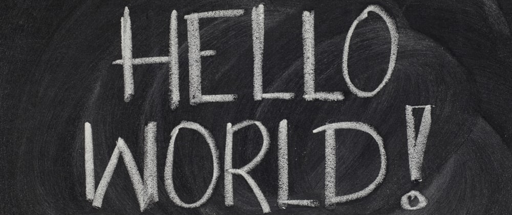 Cover image for Hello World Blog Template