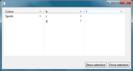 Column Browser