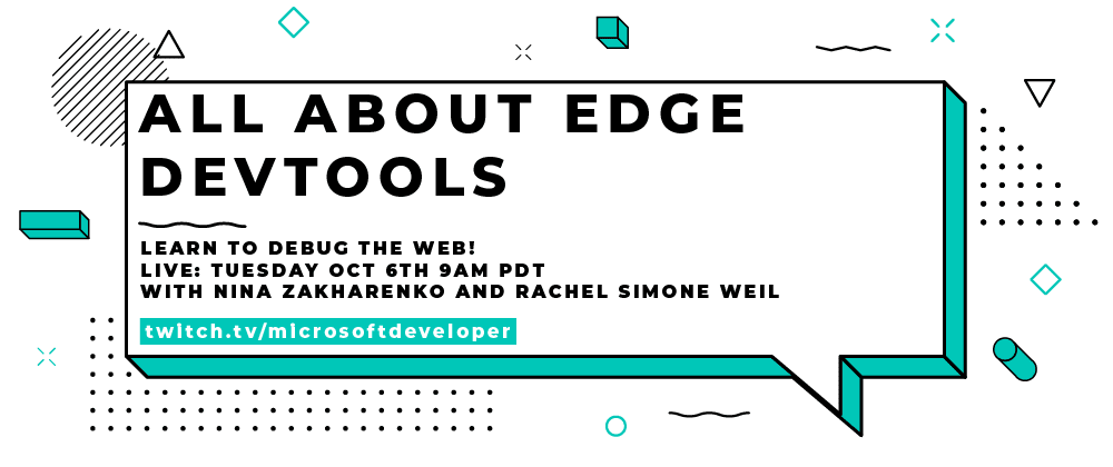 Cover image for Join Us Live Tomorrow for All about Edge DevTools!