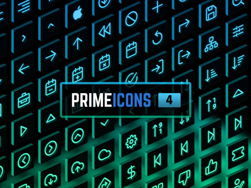PrimeIcons