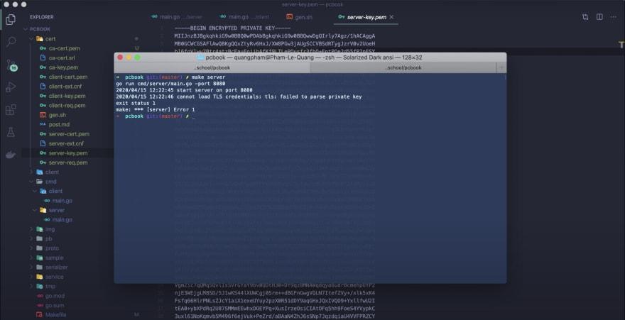 key-encrypted