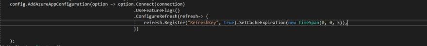 Refresh key usage