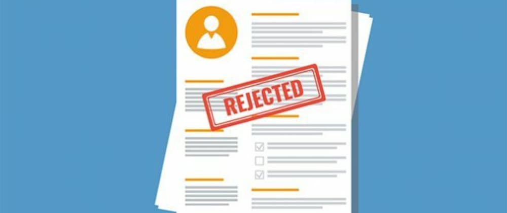 Cover image for 7 Mistakes STOPPING you from landing an interview 😱😞