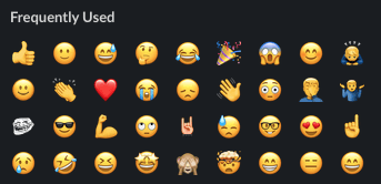 frequently used