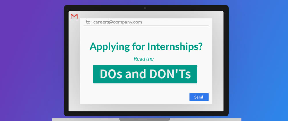 Cover image for How to apply for Software Engineering Internships at startups