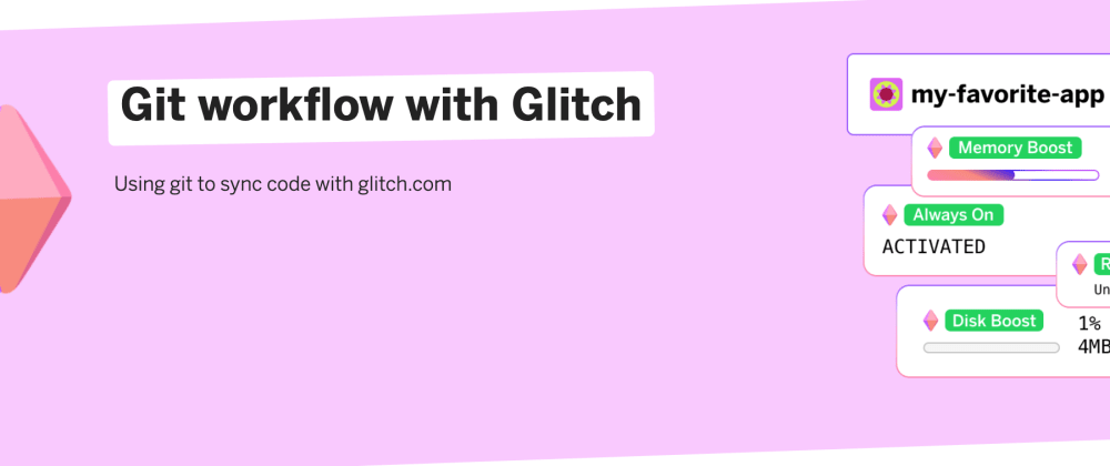 Cover image for Using git with Glitch
