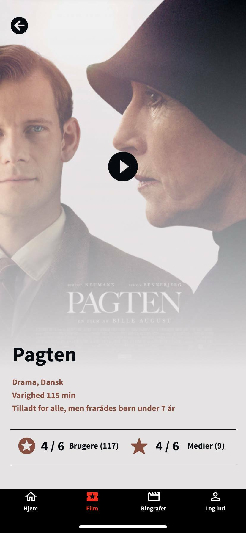 pagten screenshot kino app