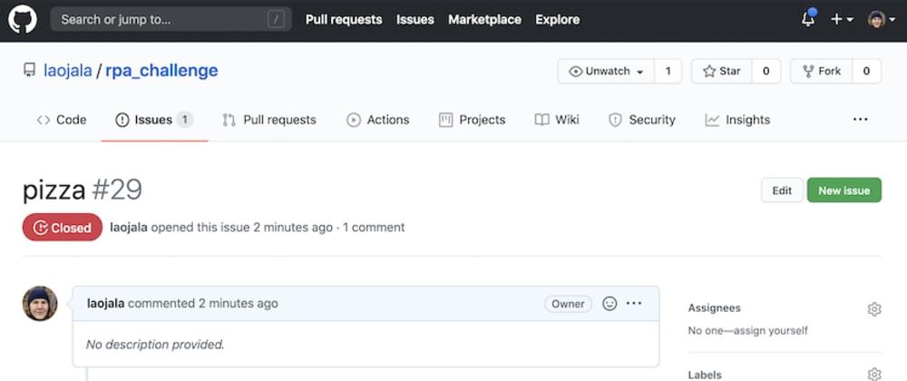 Cover image for Robot Framework - Run tasks using GithubActions