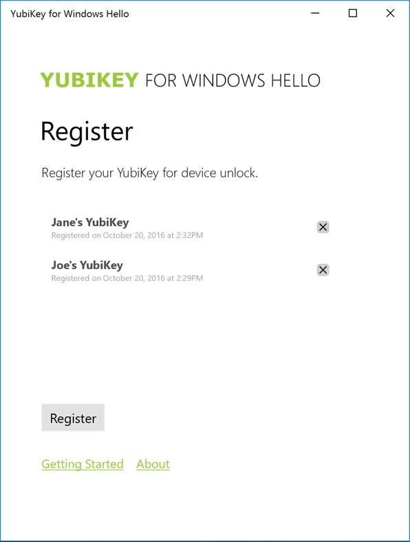 Yubikey for Windows Hello - 4