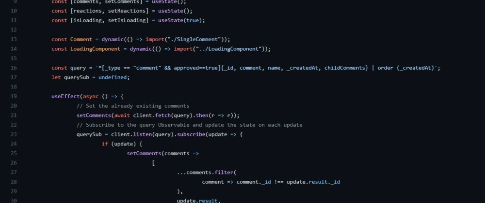 Cover image for Building a Real-Time Commenting System in React [Part 1/3]