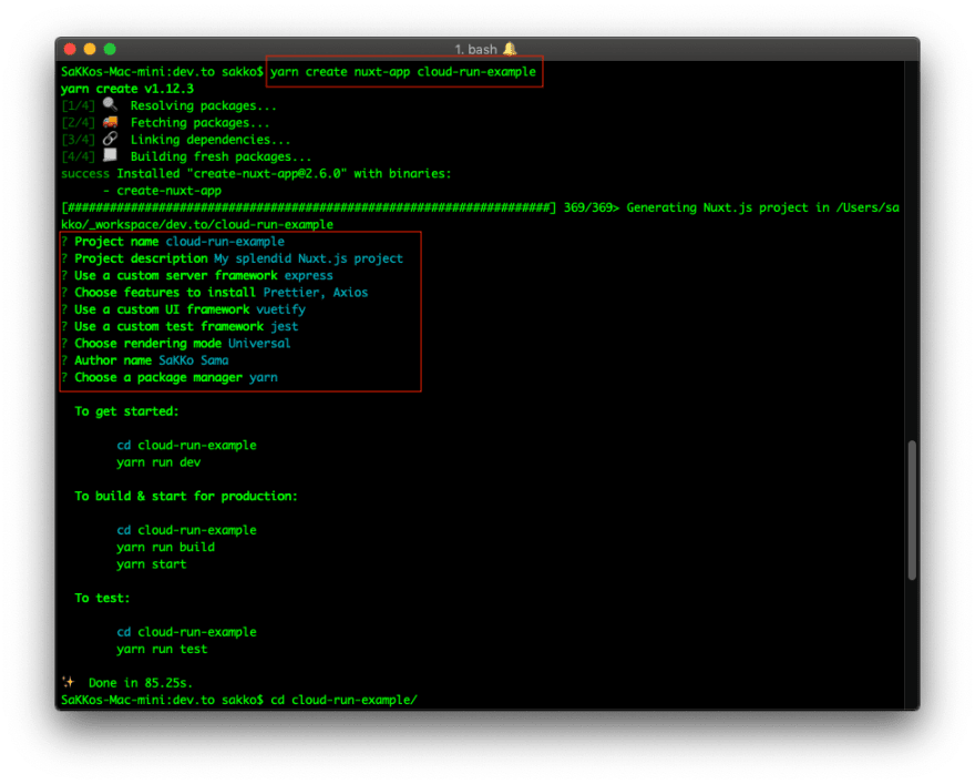 Deploying Nuxtjs on Google Cloud Run (Serverless) - DEV