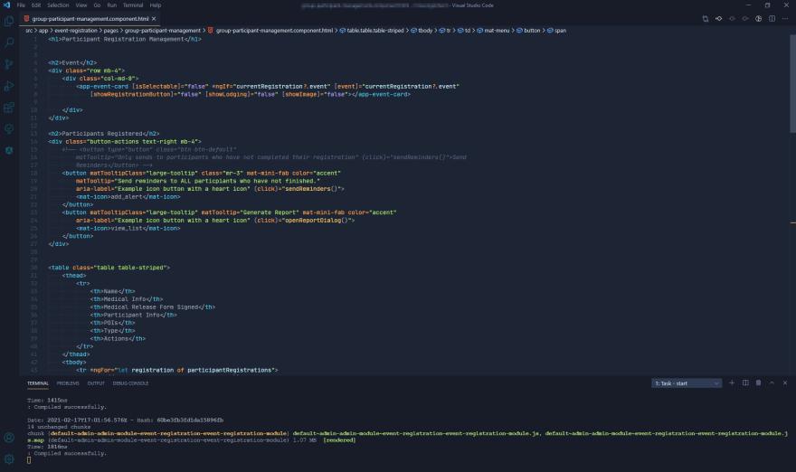 My Visual Studio Code setup