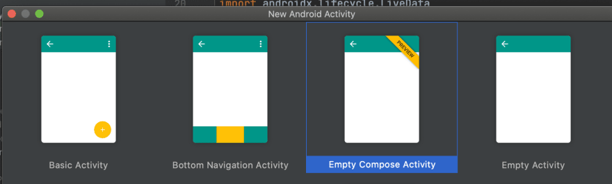 Empty Compose Activity