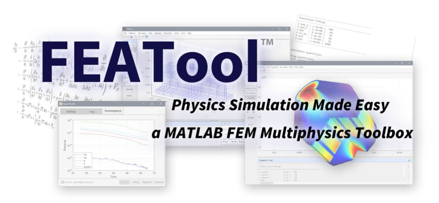 FEATool Multiphysics Stand-Alone Simulation Toolbox