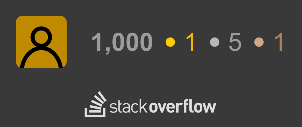 Cover image for How to get your first 1000 reputation on Stack Overflow
