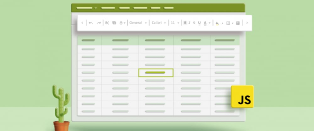 Cover image for Formatting the Essential JavaScript Spreadsheet: Cell Formatting