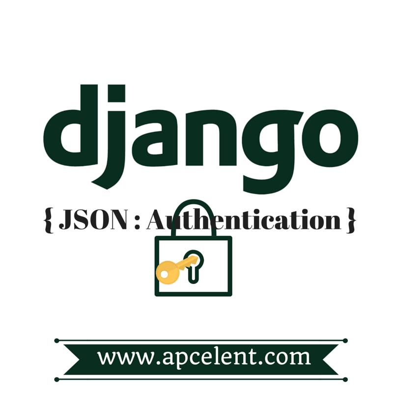 JSON WEB TOKEN BASED Authentication Backend for Django