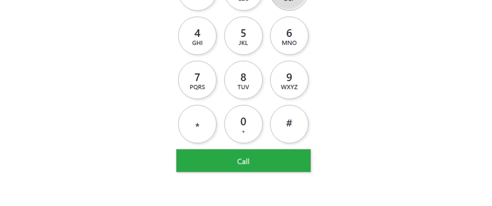 Cover image for Neomorphism Iphone Number Pad In Bootstrap 4