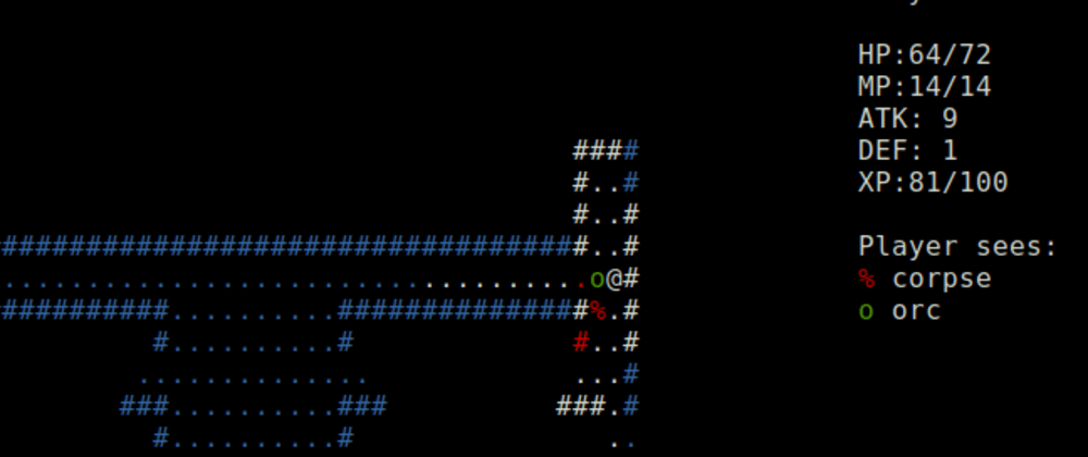 Cover image for The C Roguelike Tutorial - Part 1: The Player