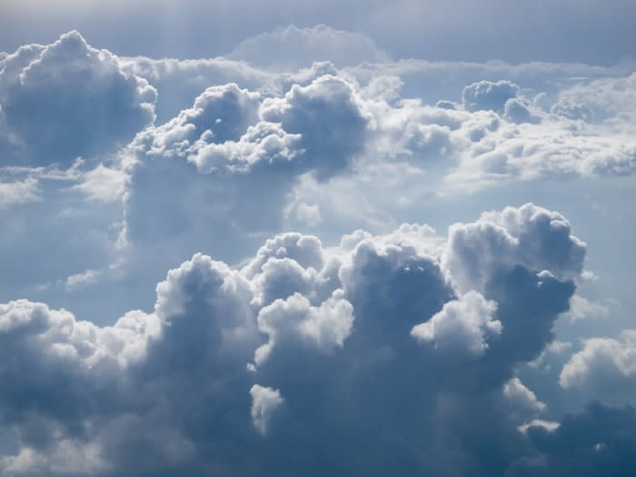 Clouds. Credits to Zbynek Burival