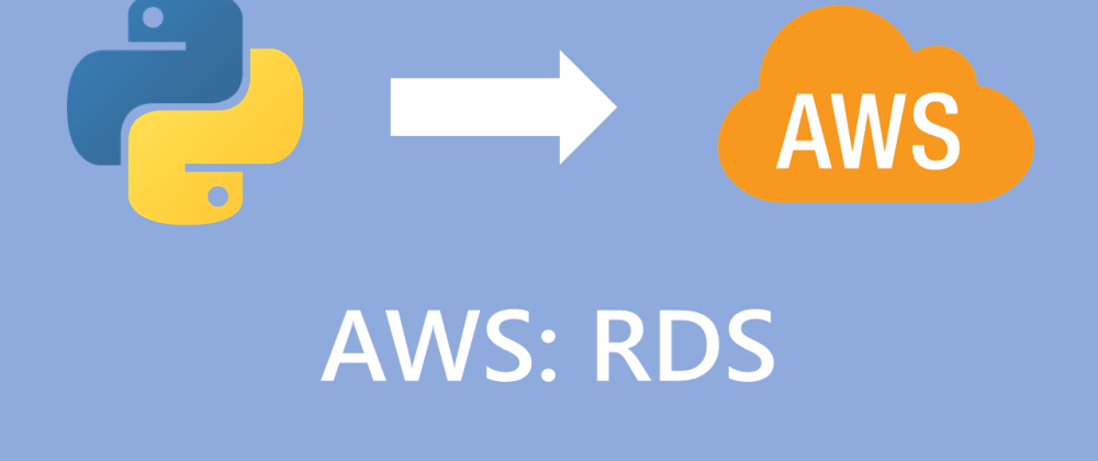 Cover image for How to connect your flask application to AWS RDS