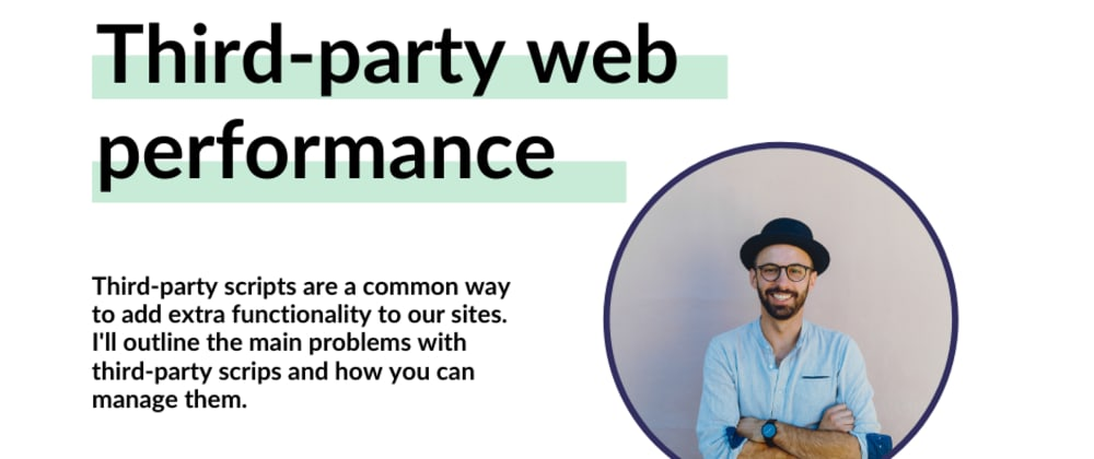 Cover image for Manage third-party web performance