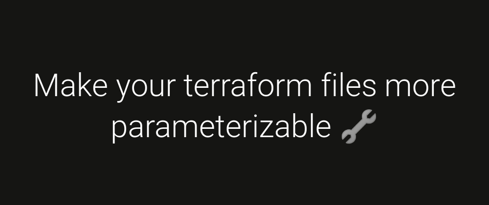 Cover image for 👷 How to make conditionnal resources in terraform?