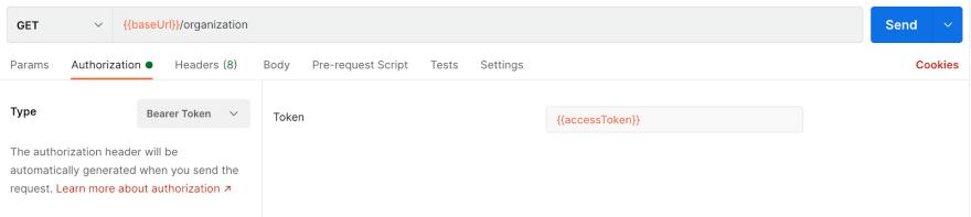 Access Token Usage